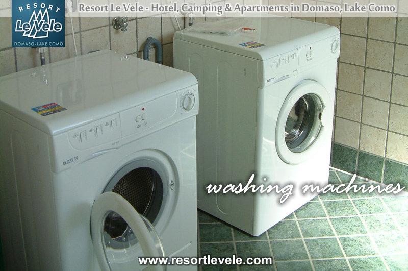 washing machines camping lake como